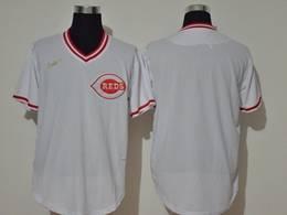 Mens Mlb Mlb Cincinnati Reds Blank 2020 White Pullover Cool Base Nike Jersey