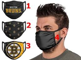 Mens Nhl Boston Bruins Face Mask Protection 4 Styles