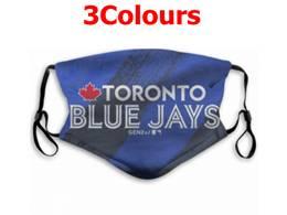Mlb Toronto Blue Jays Face Mask Protection 3 Styles