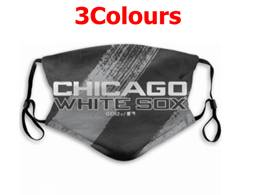 Mlb Chicago White Sox Face Mask Protection 3 Styles
