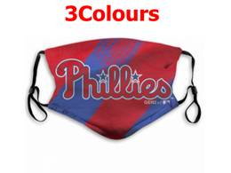 Mlb Philadephia Phillies Face Mask Protection 3 Styles