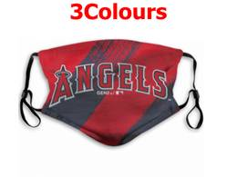 Mlb Los Angeles Angels Face Mask Protection 3 Styles