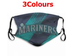 Mlb Seattle Mariners Face Mask Protection 3 Styles