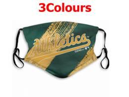Mlb Oakland Athletics Face Mask Protection 3 Styles