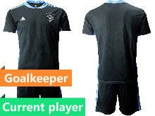 Mens Soccer Germany Ntaional Team Current Player 2021 European Cup Goalkeeper Short Sleeve Suit Jersey Green Red Purple Gray Blue Black 6 Colors
