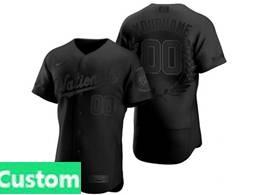 Mens Mlb Washington Nationals Black Custom Made Mvp Flex Base Nike Jersey