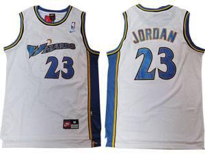 Mens Nba Washington Wizards #23 Michael Jordan White Swingman Nike Jersey