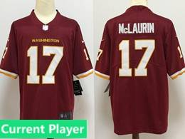 Men Nfl Washington Redskins Current Player Red Vapor Untouchable Football Team Nike Jersey