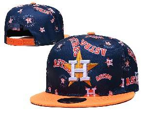 Mens Mlb Houston Astros Falt Snapback Adjustable Hats Blue