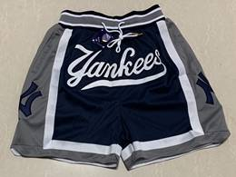 Mens Mlb New York Yankees Blue Just Don Pocket Shorts