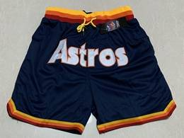 Mens Mlb Houston Astros Blue Just Don Pocket Shorts