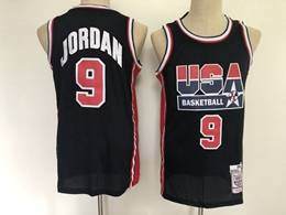 Mens Nba Usa #9 Jordan Blue Nike Jersey