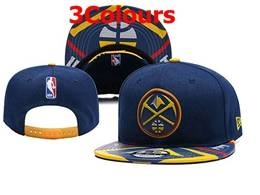 Mens Nba Denver Nuggets Snapback Adjustable Hats 3 Colors