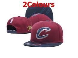 Mens Nba Cleveland Cavaliers Snapback Adjustable Flat Hats 2 Colors