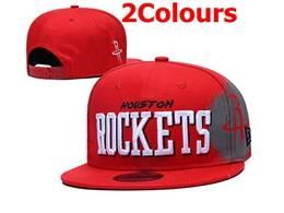 Mens Nba Houston Rockets Snapback Adjustable Flat Hats 2 Colors