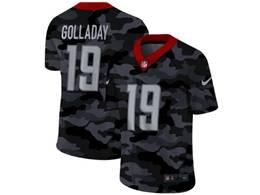 Mens Nfl Detroit Lions #19 Kenny Golladay 2020 Camo Vapor Untouchable Limited Nike Jersey