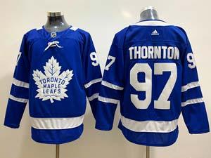 Mens Women Youth Nhl Toronto Maple Leafs #97 Joe Thornton Blue Home Adidas Jersey