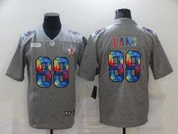 Mens Nfl Dallas Cowboys #88 Ceedee Lamb Gray Rainbow Vapor Untouchable Limited Nike Jersey