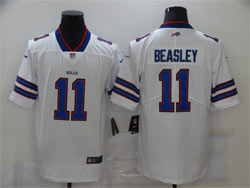 Mens Women Nfl Buffalo Bills #11 Cole Beasley White Vapor Untouchable Limited Nike Jersey