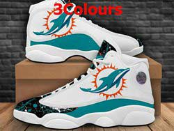 Mens And Women Nfl Miami Dolphins F14 Football Shoes 3 Colors