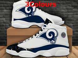 Mens And Women Nfl Los Angeles Rams F14 Football Shoes 3 Colors