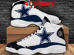 Mens And Women Nfl Dallas Cowboys F14 Football Shoes 4 Colors
