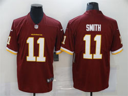 Mens Nfl Washington Redskins #11 Alex Smith Red Vapor Untouchable Football Team Nike Jersey