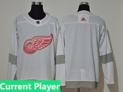 Mens Nhl Detroit Red Wings Current Player White 2021 Reverse Retro Alternate Adidas Jersey