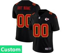 Mens Nfl Kansas City Chiefs Custom Made 2021 Black 3th Vapor Untouchable Limited Nike Jersey