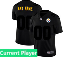 Mens Nfl Pittsburgh Steelers Current Player 2021 Black 3th Vapor Untouchable Limited Nike Jersey