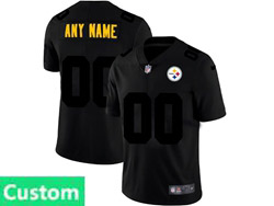 Mens Nfl Pittsburgh Steelers Custom Made 2021 Black 3th Vapor Untouchable Limited Nike Jersey