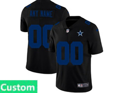 Mens Nfl Dallas Cowboys Custom Made 2021 Black 3th Vapor Untouchable Limited Nike Jersey