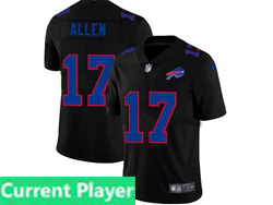 Mens Nfl Buffalo Bills Current Player 2021 Black 3th Vapor Untouchable Limited Nike Jersey