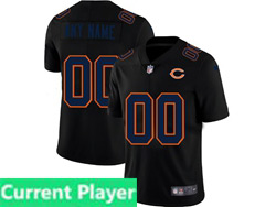 Mens Nfl Chicago Bears Current Player 2021 Black 3th Vapor Untouchable Limited Nike Jersey