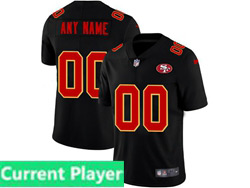 Mens Nfl San Francisco 49ers Current Player 2021 Black 3th Vapor Untouchable Limited Nike Jersey
