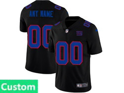 Mens Nfl New York Giants Custom Made 2021 Black 3th Vapor Untouchable Limited Nike Jersey