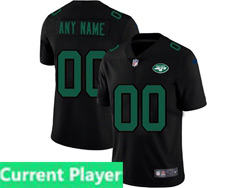 Mens Nfl New York Jets Current Player 2021 Black 3th Vapor Untouchable Limited Nike Jersey
