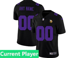 Mens Nfl Minnesota Vikings Current Player 2021 Black 3th Vapor Untouchable Limited Nike Jersey