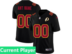 Men Nfl Washington Redskins Current Player 2021 Black 3th Vapor Untouchable Limited Nike Jersey