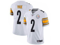 Mens Nfl Pittsburgh Steelers #2 Vick White Vapor Untouchable Limited Nike Jersey