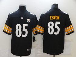 Mens Nfl Pittsburgh Steelers #85 Eric Ebron Black Vapor Untouchable Limited Nike Jersey