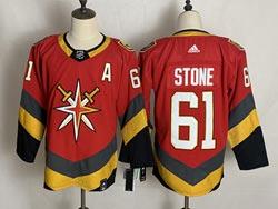 Mens Nhl Vegas Golden Knights #61 Mark Stone Red 2021 Reverse Retro Alternate Adidas Jersey