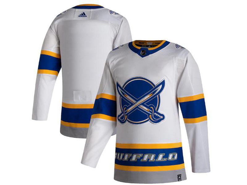 Mens Nhl Buffalo Sabres Current Player White 2021 Reverse Retro Alternate Adidas Jersey