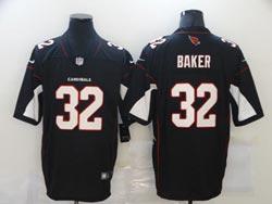 Mens Nfl Arizona Cardinals #32 Budda Baker Black Vapor Untouchable Limited Nike Jersey