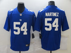 Mens Nfl New York Giants #54 Blake Martinez Blue Vapor Untouchable Limited Nike Jersey