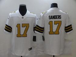 Mens Nfl New Orleans Saints #17 Emmanuel Sanders White Color Rush Vapor Untouchable Limited Jerseys