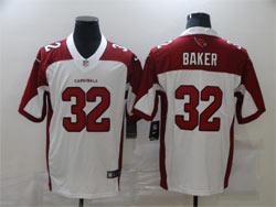 Mens Nfl Arizona Cardinals #32 Budda Baker White Vapor Untouchable Limited Nike Jersey