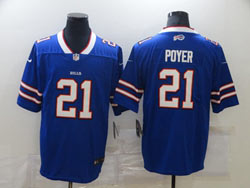 Mens Nfl Buffalo Bills #21 Jordan Poyer Blue Vapor Untouchable Limited Nike Jersey
