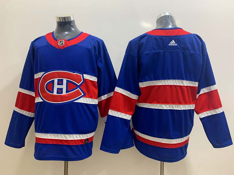 Mens Nhl Montreal Canadiens Current Player Blue 2021 Reverse Retro Alternate Adidas Jersey