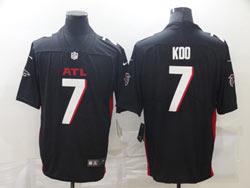 Mens Nfl Atlanta Falcons #7 Koo Black Vapor Untouchable Limited Nike Jersey